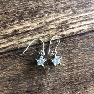 Authentic Silpada Star Earrings